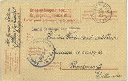 _5pk-149 :VILLERS-LE-BOUILLET  III VI 1917 > Harderwijk + Defense De Changer Cette Adresse + Censuur - WW I