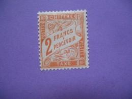 Timbre Taxe N° 41 *, TB Côte 350 - Taxes
