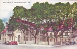 Florida Saint Augustine Court Of Lions Villa Zorayda - Postal Services