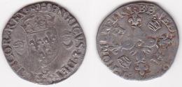 HENRI II 1547/1559 DOUZAIN 1554 G Poitiers (voir Scan) - 987-1789 Monnaies Royales