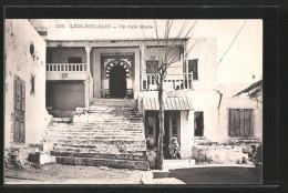 CPA Lédi-Bou-Said, Un Café Maure - Tunisia