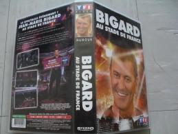 Cassette Vidéo Vhs Jean Marie Bigard Au Stade De France 2004 - Autres