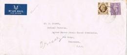 18506. Carta Aerea DIDCOT (Berks) England 1953 To USA.  Atomic Energy - 1902-1951 (Re)