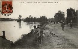37 - Route De MONTLOUIS - Crue De La Loire 1907 - France