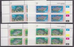 Namibia 1994 Coastal Angling 4v  Bl Of 4 ** Mnh (42153) - Namibië (1990- ...)