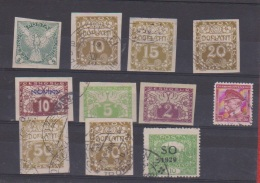 Tchécoslovaquie / Lot De Timbres Anciens - Collections, Lots & Series