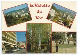 Cpsm Bon Etat  10.5x15cm ,  La Valette Du Var , Multivues , Multivues , Timbre Courrier Voir Verso , Carte Rare - La Valette Du Var