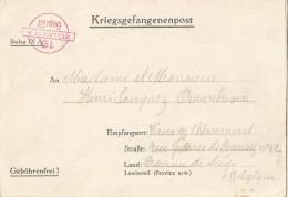 _5pk-138: Kriegsgefangenpost: Stalag IX A > Vaux S/ Chevremont ... Om Verder Uit Te Zoeken... - WW II