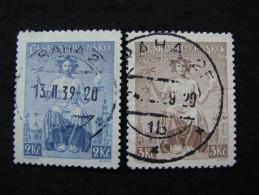 Tschechoslowakei    404 - 405  O - Gebraucht