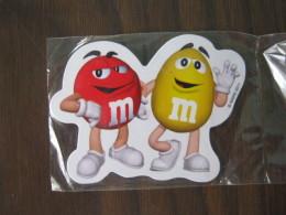 Z5 - MAGNETE PUBBLICITARIO - M & M   M&M  CARAMELLE CIOCCO CIOCCOLATO MARS 2011 - Humour