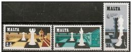 Malta/Malte: Olimpiadi Degli Scacchi, Olympiques D'échecs, Olympics Of Chess - Scacchi