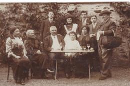 CPA CHATEAU GONTIER GROUPE DE PERSONNES - Chateau Gontier