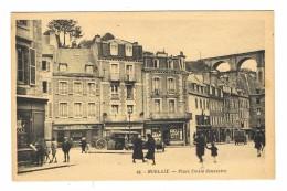 CPA 29 MORLAIX Place Emile Souvestre - Morlaix