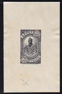 ETHIOPIE - N°201 - Epreuve De 1931 En Noir Gravée De Ras Makonnen - Fitawrari - 1852/1906 - Rare. - Ethiopia