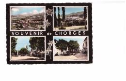 05 Chorges Carte 4 Vues Souvenir De Chorges - Frankrijk