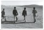 Sahara Occidental : 1751/5 Départ Pour L´école-  Mai 1976 J´réfia Sahraouis Exilés Gonfreville 76 Maroc Photo Bloncourt - Sahara Occidental