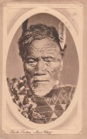 New  Zealand  - 1912 - Maori Chief  - Kervhe Faukau   - Scan Recto-verso - Nouvelle-Zélande