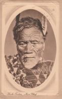 New  Zealand  - 1912 - Maori Chief  - Kervhe Faukau   - Scan Recto-verso - New Zealand