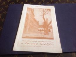 1947 Bulletin Trimestriel Association Des Ancien élève Du Pensionnat Saint Gilles Moulins Allier Kermesse Discours - Factures & Documents Commerciaux