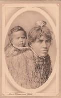New  Zealand  - 1911 - Maori  Woman And Child    - Scan Recto-verso - Nouvelle-Zélande