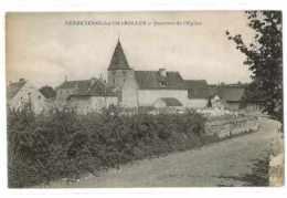 CPA 71 VANDENESSE-LES-CHAROLLES QUARTIER DE L'EGLISE - Other Municipalities