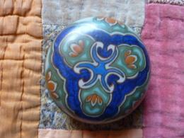 Ancien Petite Bonbonnière Hollandaise - Céramiques