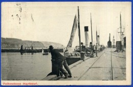 FOLKESTONE HARBOUR - 1906 - Folkestone