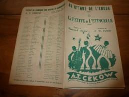 1950 Chansons LA PETITE ETINCELLE , AU RYTHME DE L'AMOUR..la Joie De T'aimer Pour Toujours......etc - Partitions Musicales Anciennes