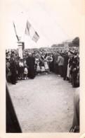 Photo Originale Bretagne - Côtes D'Armor - Binic-Étables-sur-Mer - 22520 - Cérémonie Au Monument Aux Morts En 1947 - Lugares