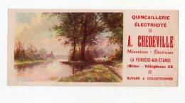 Juin16   75359   Buvard   Ets Chedeville   La Ferrière Aux étangs  Orne - Electricité & Gaz