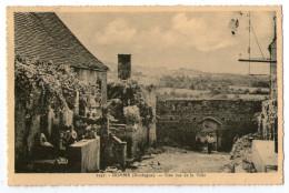 CPA    24       DOMME     1941      RUE DE LA VILLE - Sonstige Gemeinden