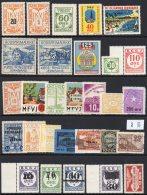 Denmark / Danish Railway Parcels / Danmarks Jernbanefrimærker : Collection Of 29 Stamps