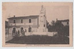 AVENZA MASSA CARRARA MONUMENTO A MAZZINI F/P VIAGGIATA 1919 - Otras Ciudades
