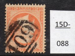 France 1862 40c Oblitération Anglaise 409 De Jersey (Isles Anglo-normandes), Maury Obl. EG 1d.
