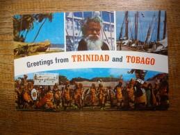 """Trinidad And Tabago """" Carte Animée , Multi-vues """" - Trinidad"""