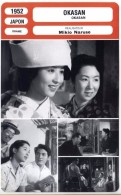 Fiche De Mr Cinéma - OKASAN - JAPON 1952 - Cinemania