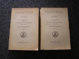 LA BELGIQUE ET LA GUERRE DE SECESSION 1861 1865 F Balace 2 Tomes Régionalisme Histoire Etats Unis Usa Mexique Maximilien - Belgique