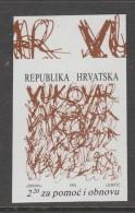 TIMBRE NEUF DE CROATIE - POUR LA RECONSTRUCTION DE LA VILLE DE VAKOVAR N° Y&T BIENFAISANCE 20a - Croatia