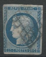 Lot N°31506  N°4, Oblit Grille De 1849 - 1849-1850 Ceres