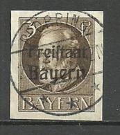 Bayern, Nr. 152 B, Gestempelt - Bavière