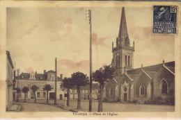 72 - Vibraye (Sarthe) - Place De L'église - Vibraye