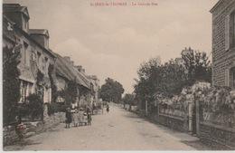 SAINT - JEAN- LE -THOMAS    :-         LA  GRANDE  RUE - France