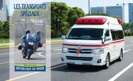 Niger 2016, Special Transport, Police, Moto, Ambulance, BF - Motos
