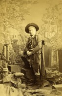 Londres Theatre Acteur Morris Dans Peep O Day Ancienne CDV Photo Southwell 1863 - Old (before 1900)