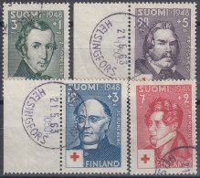 Finlandia 1948 Nº 334/37 Usado - Gebraucht