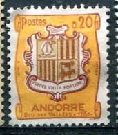 Andorre 1961-71 - YT 157 (o)
