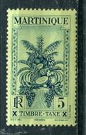 Martinique 1933 - Taxe YT 12** - Martinique (1886-1947)
