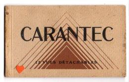 40053-LE-50-CARENTEC--carnet Album De 12 Vues  Brunes - Andere Gemeenten