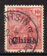 Dt.Post CHINA 1901 - MiNr: 17  Used - Offices: China