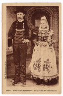 Env Chateaulin--Mariés Du Finistère-(costumes , Coiffe  N°3990  Collec Hamonic........à Saisir - Châteaulin